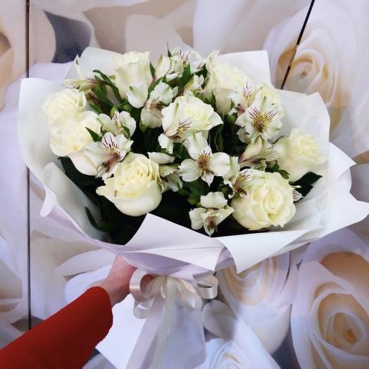 Букет 100: букеты цветов на заказ Flowwow