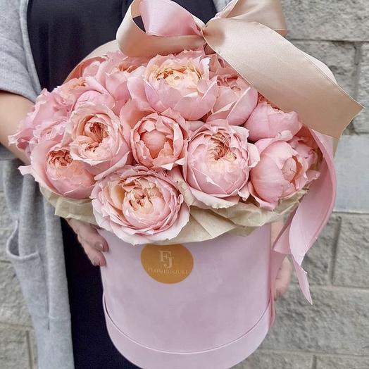 Коробка «Бант»: букеты цветов на заказ Flowwow