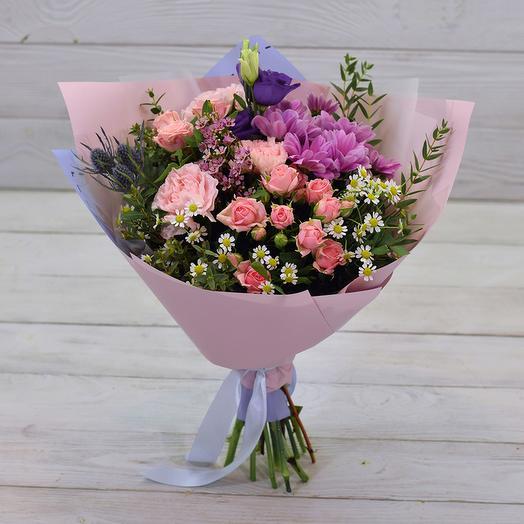 Букет Фьюжн: букеты цветов на заказ Flowwow