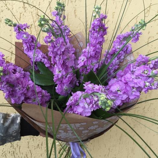 Маттиола: букеты цветов на заказ Flowwow