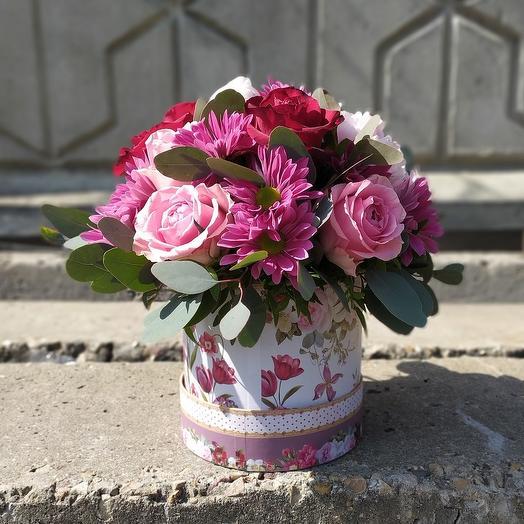 Коробка Эллегия: букеты цветов на заказ Flowwow