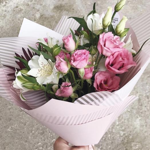 Букет Малиновая Карамелька: букеты цветов на заказ Flowwow