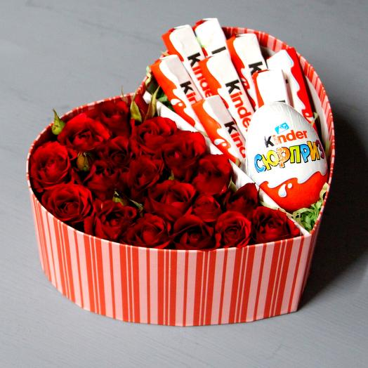Roses and chocolate: flowers to order Flowwow