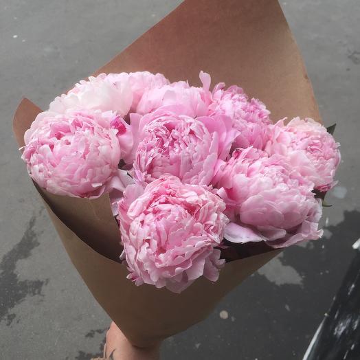 Нежные пионы☺️: букеты цветов на заказ Flowwow