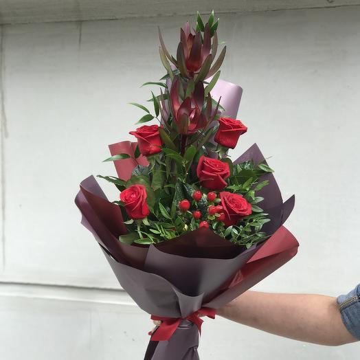 Букет Мужской: букеты цветов на заказ Flowwow