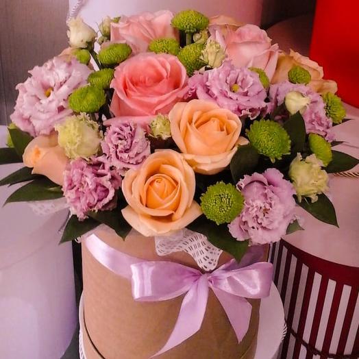 Микс в коробке: букеты цветов на заказ Flowwow