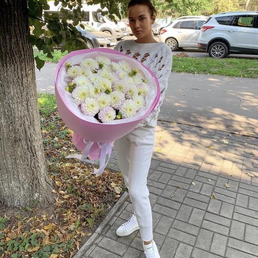 25 георгин: букеты цветов на заказ Flowwow