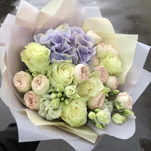 Букет нежный 🌸: букеты цветов на заказ Flowwow