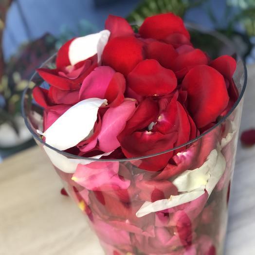 Лепестки свежих роз (10 литров)