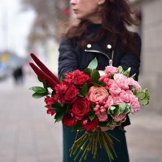 Градиент: букеты цветов на заказ Flowwow