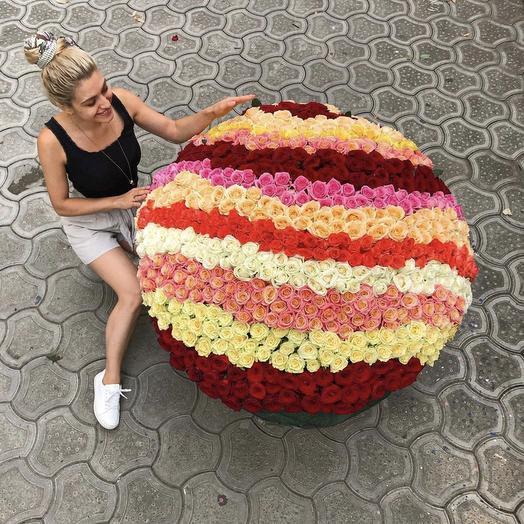 Поле Роз: букеты цветов на заказ Flowwow