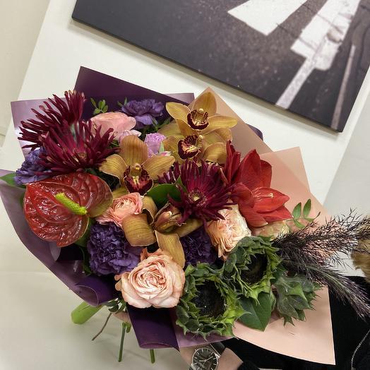 Мерцание красок: букеты цветов на заказ Flowwow