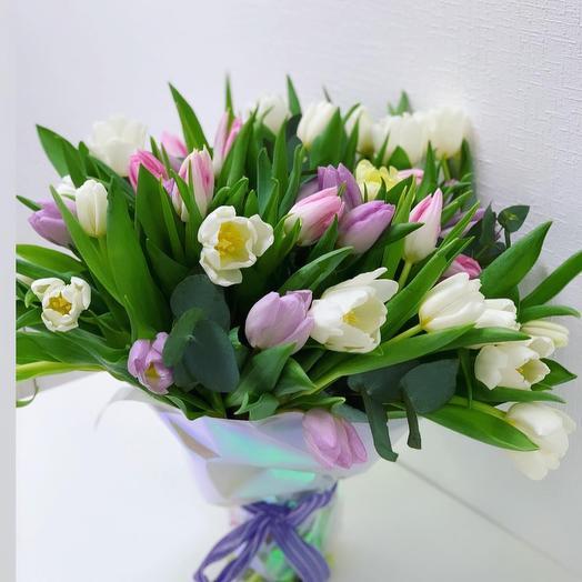 Подснежники и крокусы: букеты цветов на заказ Flowwow