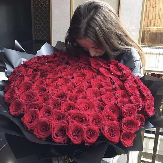 Букет « classic Red»: букеты цветов на заказ Flowwow
