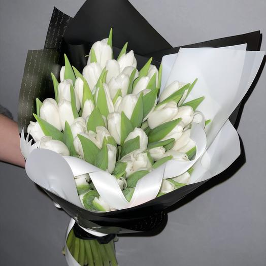 101 роскошный белоснежный: букеты цветов на заказ Flowwow