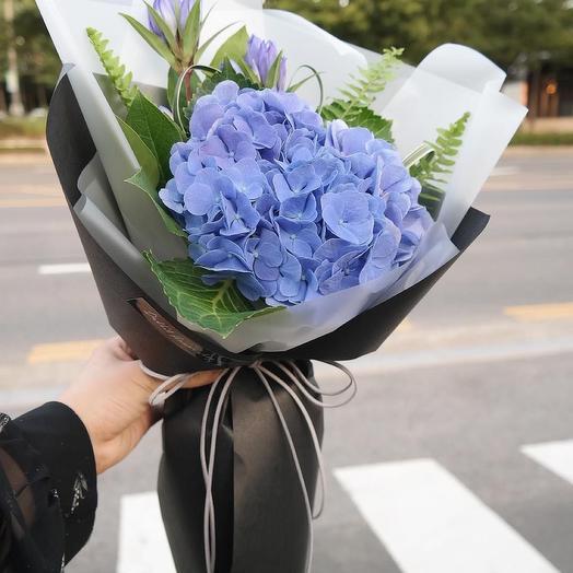 Букет цветов «Океан любви»
