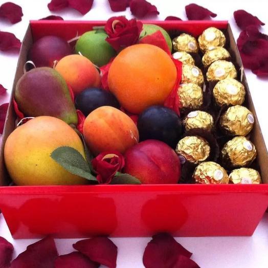 Коробка фруктовая