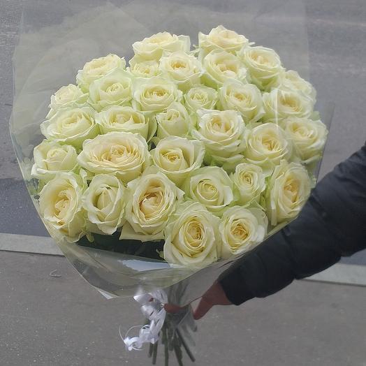 Белые роза 31