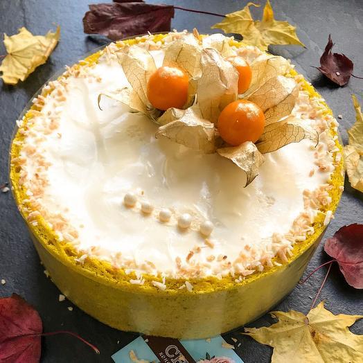 Чизкейк манго-маракуйя
