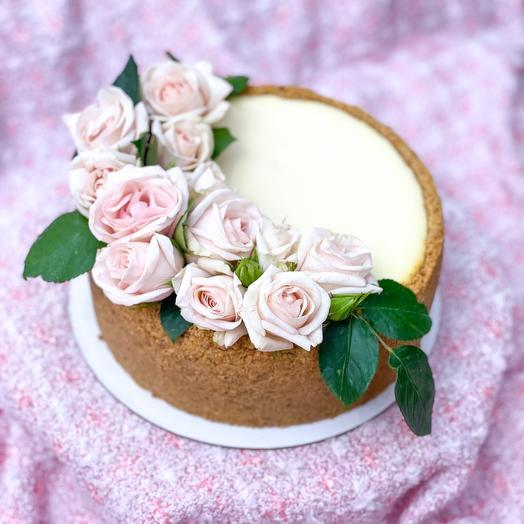 Торт «Чизкейк Нежность»