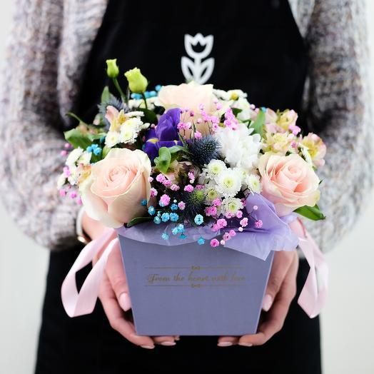 Цветы в конусе