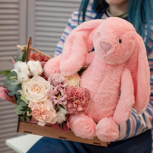 Розовый кролик 🐰