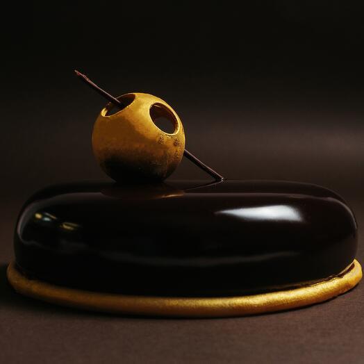 Шоколадный муссовый торт Nicolas Thibault