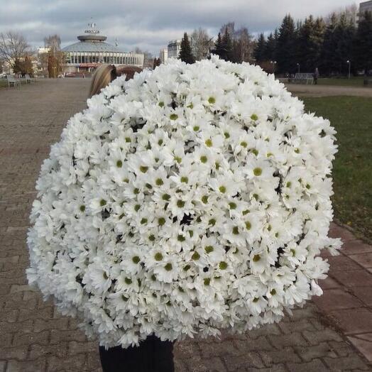 Букет Облако из хризантемы