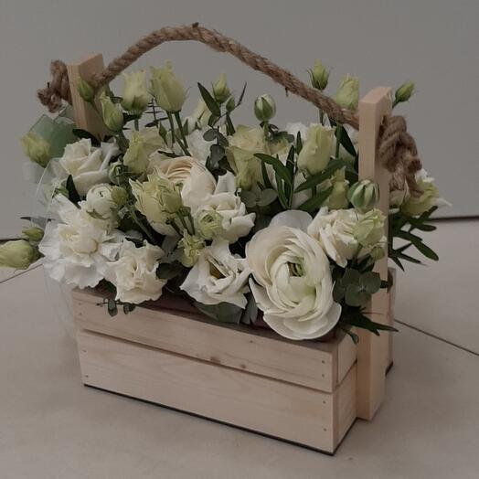 Цветы в коробке (Символ надежды)