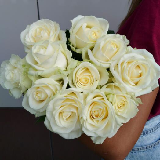 Белая Роза (11шт)