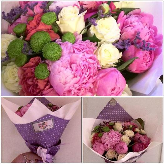 Букет 361: букеты цветов на заказ Flowwow