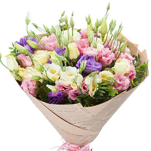 Букет Нежное эхо: букеты цветов на заказ Flowwow