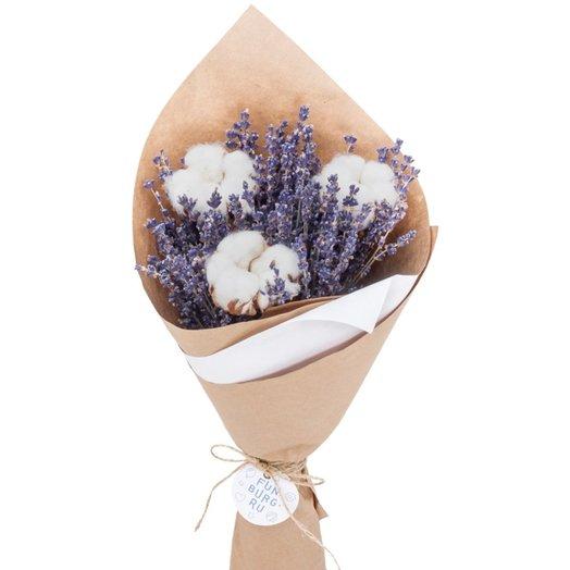 Букет лаванды «Вспоминая Прованс»: букеты цветов на заказ Flowwow