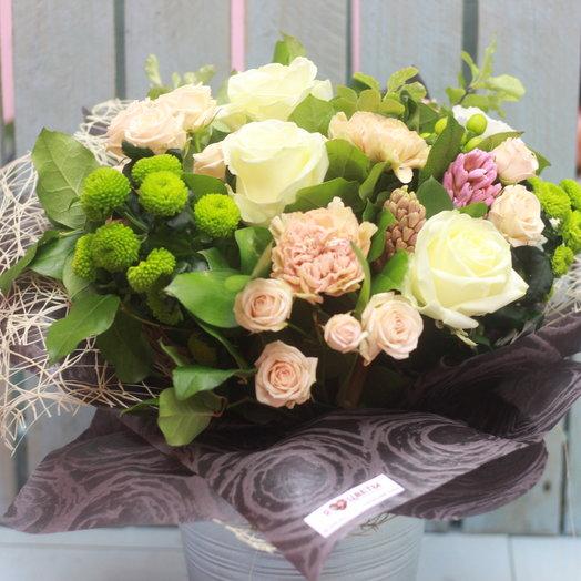 Нежная ночь: букеты цветов на заказ Flowwow