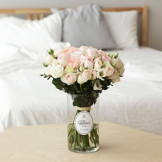 """Букет """"West Yorkshire"""" в вазе: букеты цветов на заказ Flowwow"""