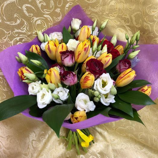 Букет «Счастье»: букеты цветов на заказ Flowwow