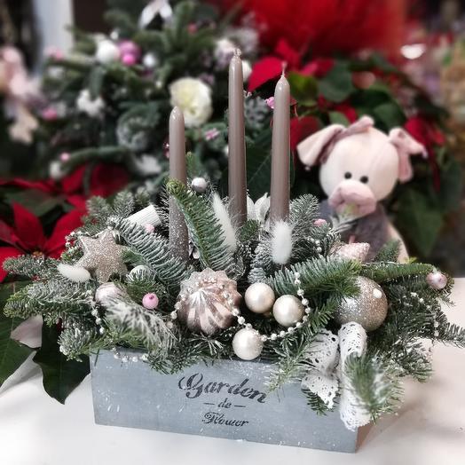 Композиция новогодняя сказка: букеты цветов на заказ Flowwow