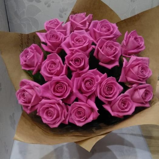 Розовый бриз: букеты цветов на заказ Flowwow