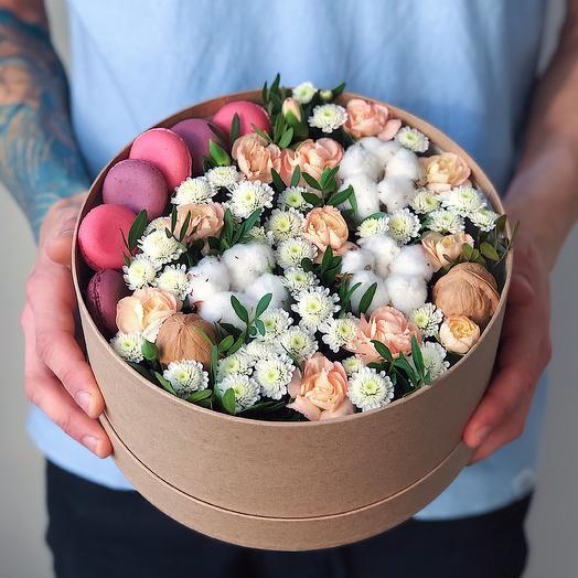 Ring 4 Средний: букеты цветов на заказ Flowwow