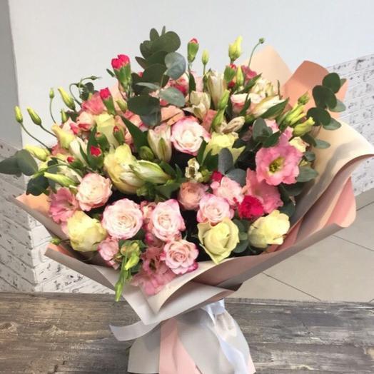 Букет Фиона: букеты цветов на заказ Flowwow