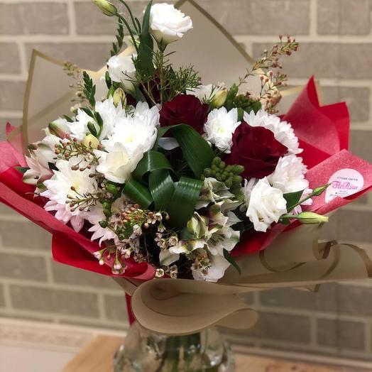 Стереобукет VAMP: букеты цветов на заказ Flowwow