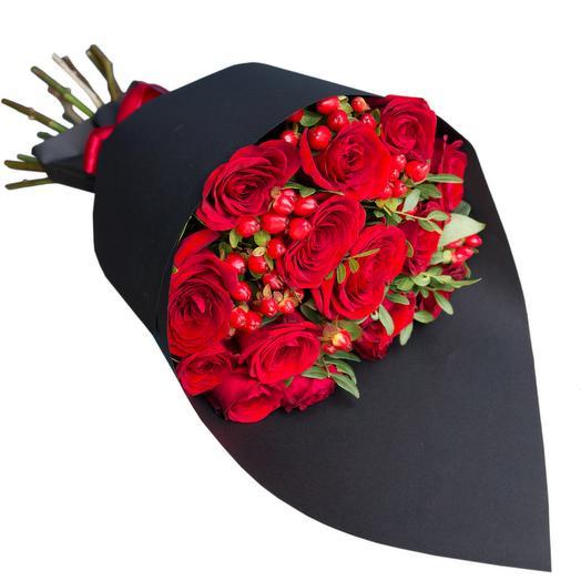 Горячая штучка: букеты цветов на заказ Flowwow