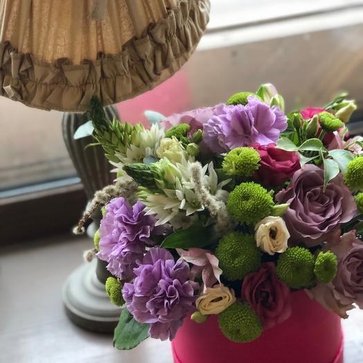 """Коробка с цветами """"Благая весть"""""""