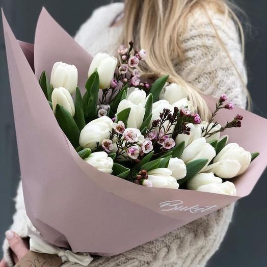 Настоящая весна: букеты цветов на заказ Flowwow