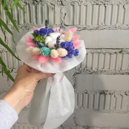 Сухоцветы мини: букеты цветов на заказ Flowwow