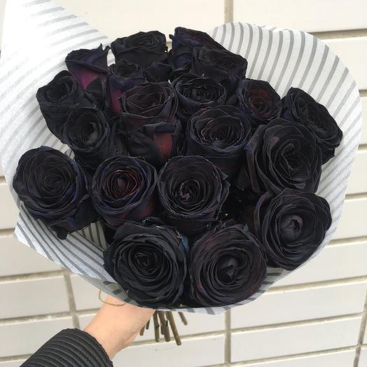 "Букет ""ЧЕРНАЯ НОЧЬ"": букеты цветов на заказ Flowwow"