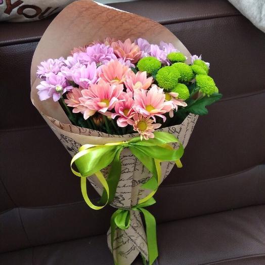 Букет - Комплимент: букеты цветов на заказ Flowwow