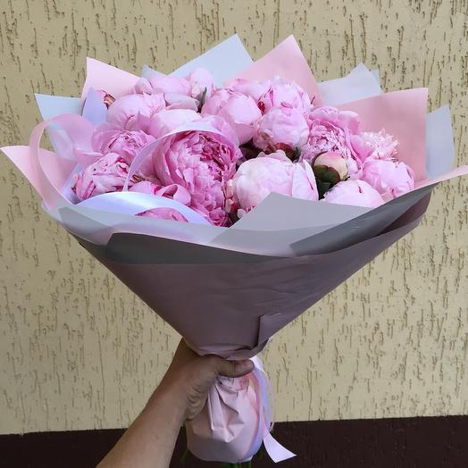Шикарные пионы 29: букеты цветов на заказ Flowwow
