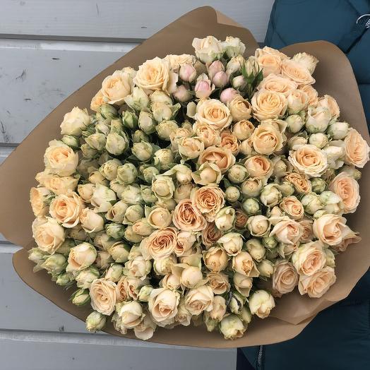 Крем карамель: букеты цветов на заказ Flowwow