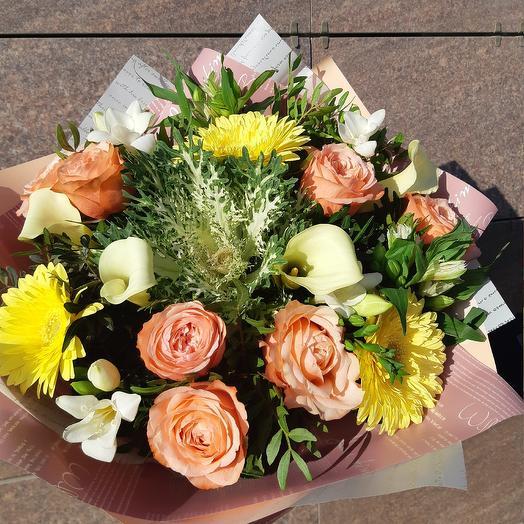 Отличного настроения: букеты цветов на заказ Flowwow
